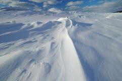 L'hiver, lac Michigan Photographie stock libre de droits