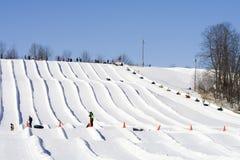 l'hiver le Wisconsin d'amusement photographie stock libre de droits