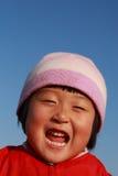 l'hiver mignon chinois de fille Image stock