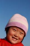 l'hiver mignon chinois de fille Images stock