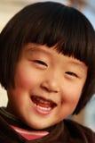 l'hiver mignon chinois de fille Photos stock