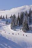 l'hiver neigeux d'horizontal Photos libres de droits