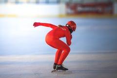 l'hiver neigeux kiting de sports de ski de fleuve Photos stock
