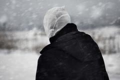 L'hiver nucléaire photographie stock