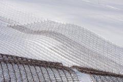l'hiver pavese de vignes d'oltrepo de l'Italie Images libres de droits