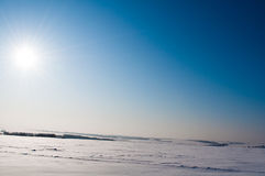 L'hiver russe Photos stock