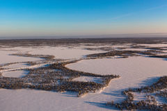 L'hiver Sibérie Images libres de droits
