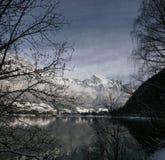 L'hiver suisse Image libre de droits
