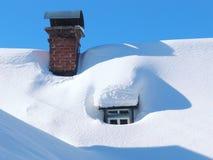 l'hiver tchèque de montagnes photographie stock