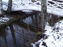 L'hiver vient et est chaque chose bien ? Photographie stock libre de droits