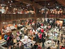 L'HOKKAIDO, GIAPPONE - 15 DICEMBRE: 2016: Di Music Box in negozio di Otaru Mus Immagine Stock