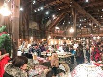 L'HOKKAIDO, GIAPPONE - 15 DICEMBRE: 2016: Di Music Box in negozio di Otaru Mus Fotografia Stock Libera da Diritti