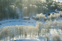 L'Hokkaido Ski Resort fotografie stock
