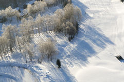 L'Hokkaido Ski Resort fotografia stock libera da diritti
