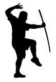 L'homme avec bokken Photo libre de droits