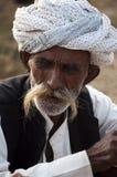 L'homme avec une moustache Image stock