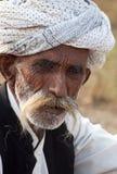 L'homme avec une moustache Photo stock