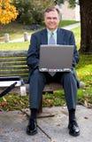 L'homme d'affaires Image libre de droits