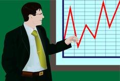 L'homme d'affaires illustration stock