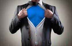 Concept pour le héros d'homme d'affaires Photographie stock