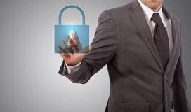 Concept de sécurité Photos libres de droits