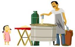 L'homme de sucrerie Images stock