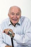 L'homme plus âgé apprécie la vie Image stock