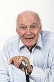 L'homme plus âgé apprécie la vie Photos libres de droits