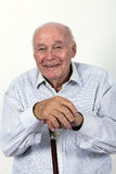 L'homme plus âgé apprécie la vie Photo libre de droits