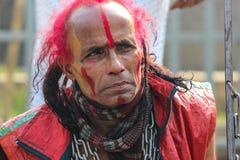 L'homme rouge image libre de droits