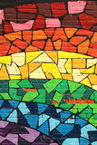 L'homosexuel colore le graffiti Images libres de droits