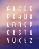 L'horaire de l'alphabet set Photos stock