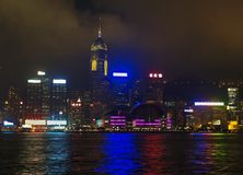 L'horizon de Hong Kong du centre Photos stock