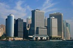L'horizon de New York City Images stock