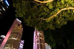 L'horizon de Singapour Image stock