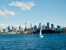 L'horizon de Sydney images libres de droits