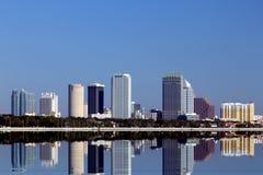 L'horizon de Tampa Photographie stock libre de droits