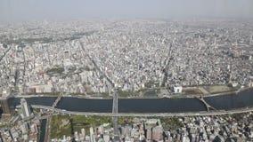 L'horizon de Tokyo banque de vidéos