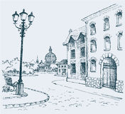 L'horizontal architectural Image stock