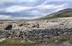 L'horizontal de Burren Image stock