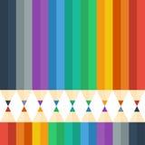 L'horizontal de l'automne Illustration de vecteur Fond Image stock