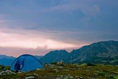 L'horizontal de la montagne Photos libres de droits
