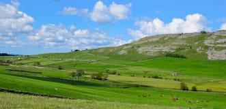 L'horizontal de vallées de Yorkshire Image libre de droits