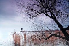 L'horizontal du lac Taihu Image libre de droits