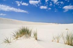 L'horizontal sur le désert Leba Photographie stock