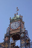 L'horloge à Chester Photos stock
