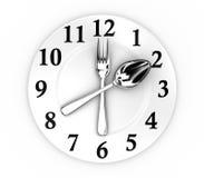 L'horloge Image libre de droits