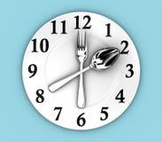 L'horloge Photographie stock libre de droits