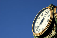 L'horloge Photos libres de droits