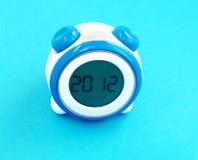 L'horloge affiche 2012 Images stock